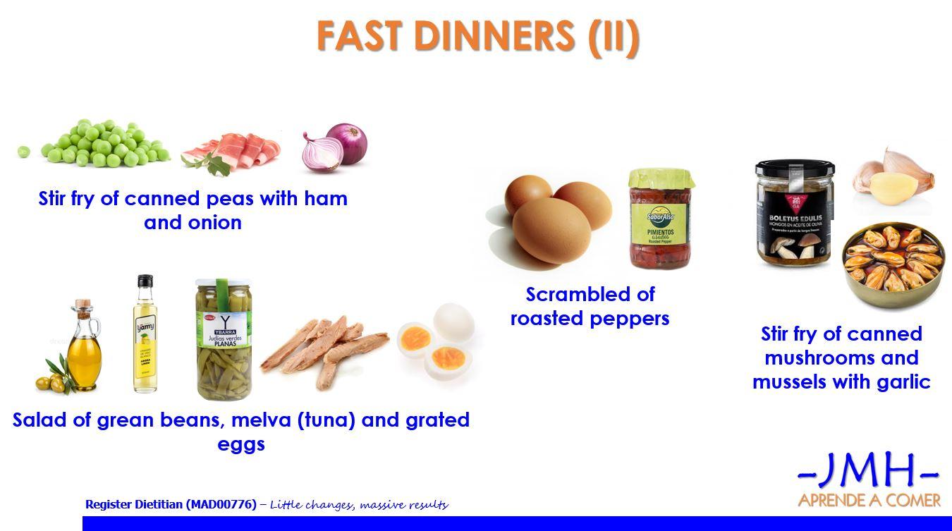 Fast dinners II